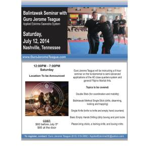 July Seminar Flyer